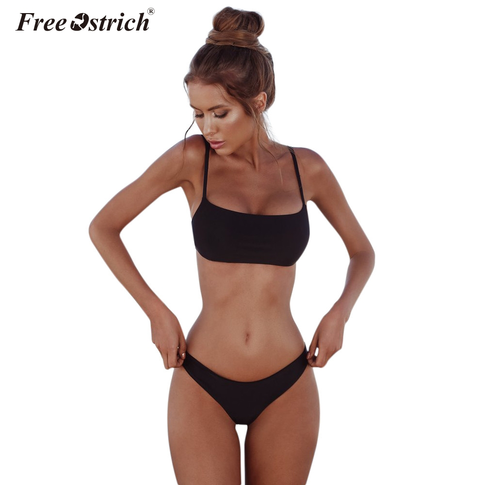 Free Ostrich Thin Breathable Comfortable   bra   panties Triangle cup   Bra     Sets   For Women Wireless Underwear Solid Lingerie   Set   N30
