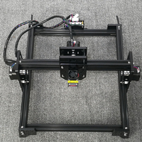2017 Latest Laser Engraving DIY Black Metal Body 300 MW 21X25cm Engraving Area Laser Engraving Machine