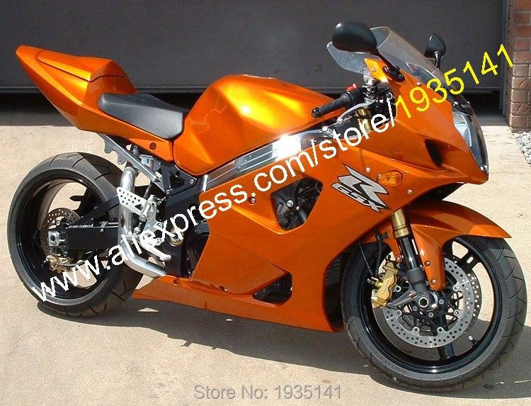 Лидер продаж, для Suzuki K3 gsxr1000 2003 2004 gsx-r1000 03 04 GSX R 1000 Оранжевый кузовов мотоцикл обтекатель (литья под давлением)