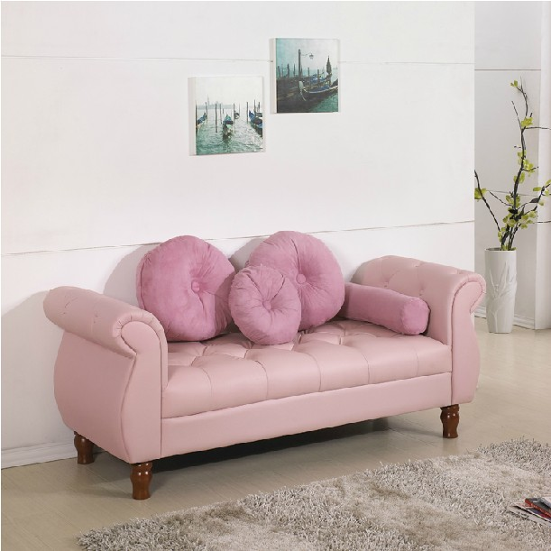 Continental stool small apartment bedroom sofa bed end Garden 1.5 m ...