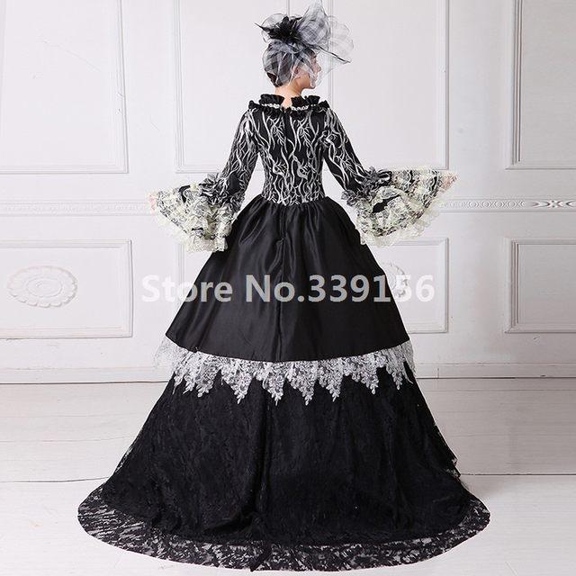 Online Shop Beautiful Marie Antoinette Dress Victorian Gothic ...