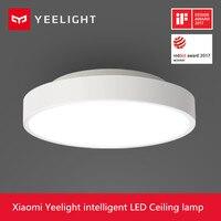 2018 Новый Оригинальный Сяо mi Yeelight Smart потолочный светильник удаленного mi приложение WI FI Bluetooth Управление Smart Светодиодный Цвет IP60 пыле