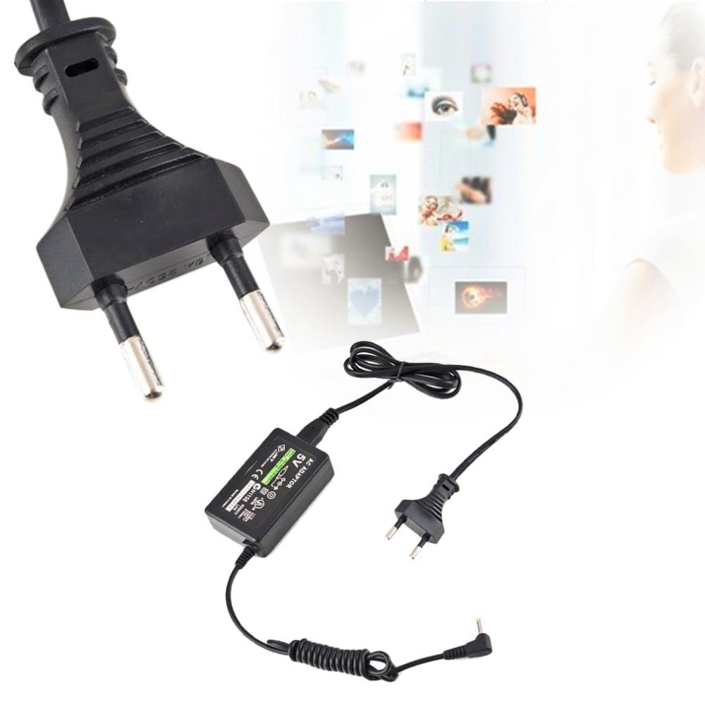 PSP Professional Portable מטען קיר AC מתאם מתח אספקת שחור טבורי Carregador מטען מתאם AC עבור PSP (2)