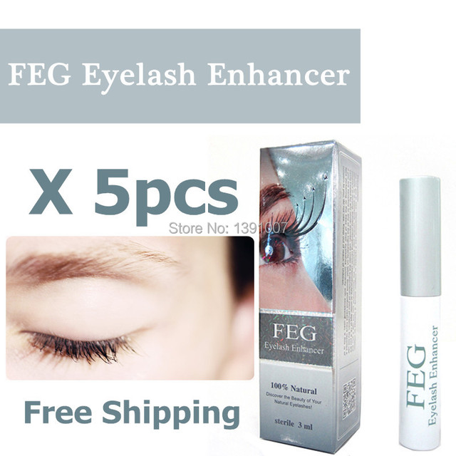 26ba4fc4294 100% REAL & Original FEG eyelash enhancer Hologram version eyelash growth  liquid 3ml eyelash serum FEG for eyelash growth
