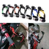 7 8 Adjustable Motorcycle Handle Bar Grips Motorbike Brake Clutch Levers Protector Guard For Yamaha YZF