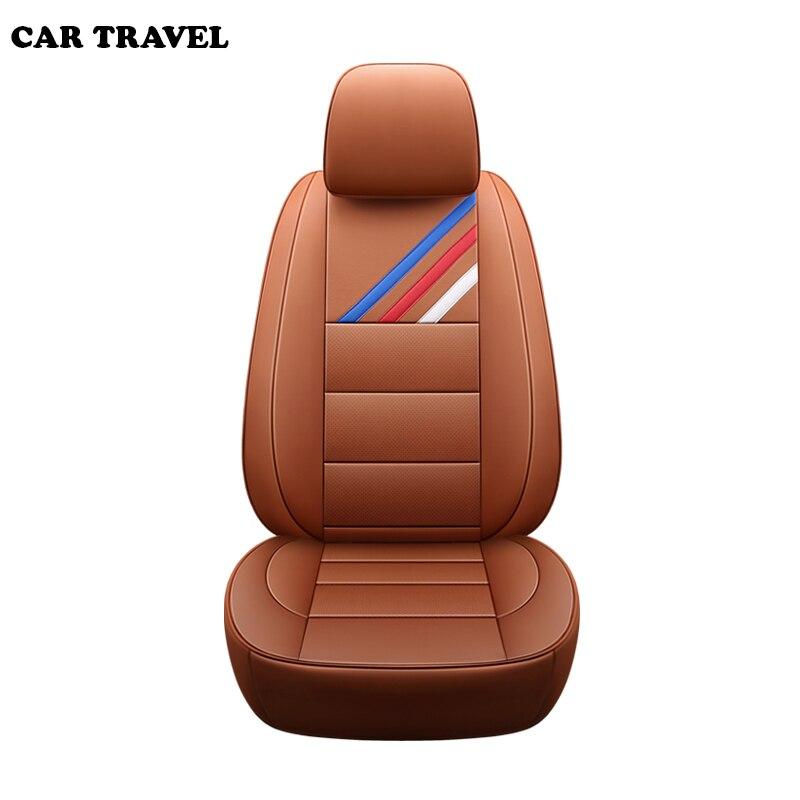 Véritable Cuir auto personnalisé housse de siège de voiture Pour bmw e46 e36 e39 e90 x1 x5 x6 e53 f11 e60 f30 x3 e83 Automobiles Siège Couvre