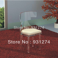 ONE LUX Hand Finished Acrylic Dining Chair Lucite Perspex Event Weddiing Chairs