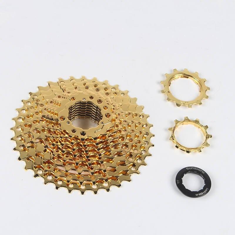 Cycling Sunshine 11-36t 10 Speed Mtb Mountain Bike Freewheel Bicycle Flywheel Cassette Cassettes, Freewheels & Cogs