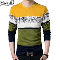 High Quality 2016 Brand Autumn Men Casual O Neck Sweater Men S Slim Fit Pullover Christmas