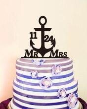 Custom Mr Mrs Name Wedding Decoration Personalized Cake Toppers Unique Wedding Cake Toppers Acrylic Personalized Design