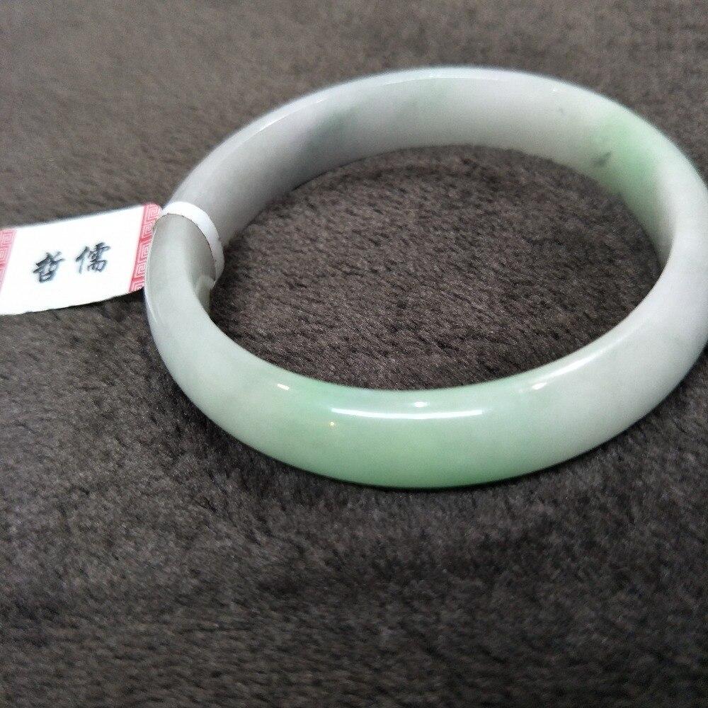 Zheru Jewelry Natural Jadeite Bracelet Natural Violet + Light Green 54-61mm Gift Class A National CertificateZheru Jewelry Natural Jadeite Bracelet Natural Violet + Light Green 54-61mm Gift Class A National Certificate