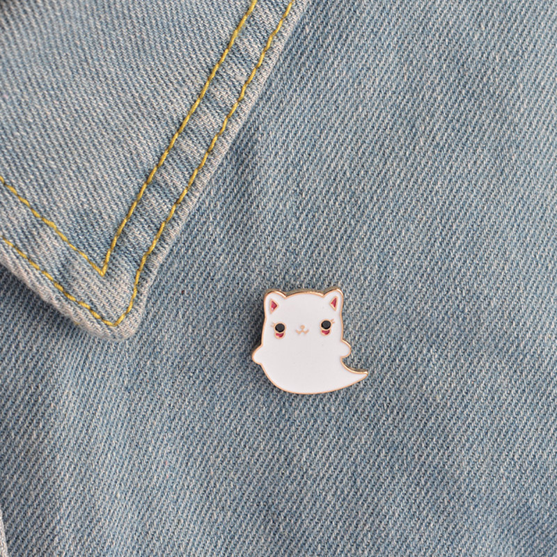 Xinaher 1pc Cartoon Fat Cat Metal Badge Brooch Button Pins Denim Jacket Pin Jewelry Decoration Badge For Clothes Lapel Pins Arts,crafts & Sewing Home & Garden