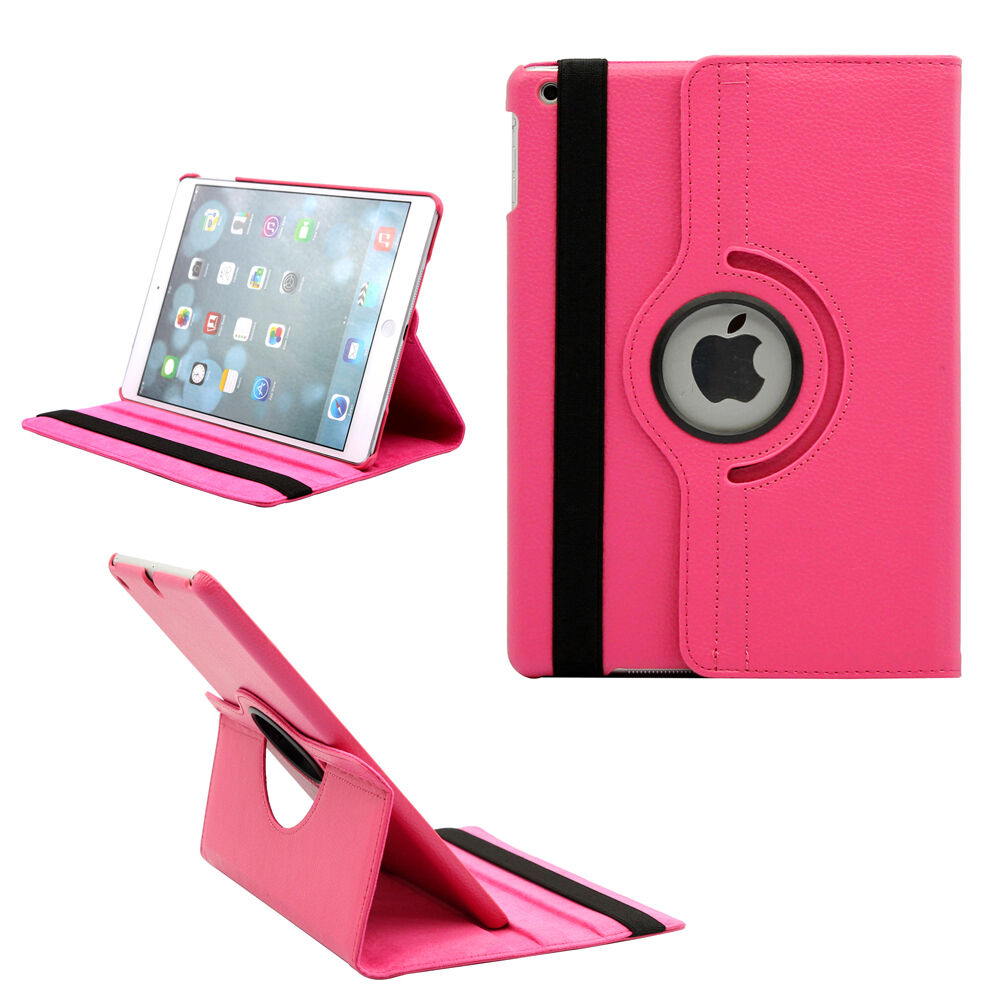 9.7'' Tablet Case for iPad 2 iPad 3 iPad 4 360 Case Smart Magnetic Rotation Stand A1430 A1459 Cover for iPad 4 Cover 360 Stand (6)