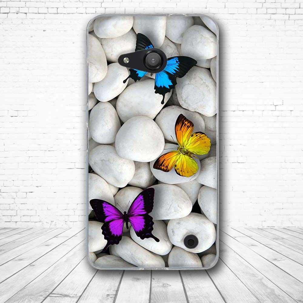 Для microsoft Nokia Lumia 550 мягкий, из ТПУ, защитный силиконовый роскошный чехол для microsoft Nokia Lumia 550 Coque Funda