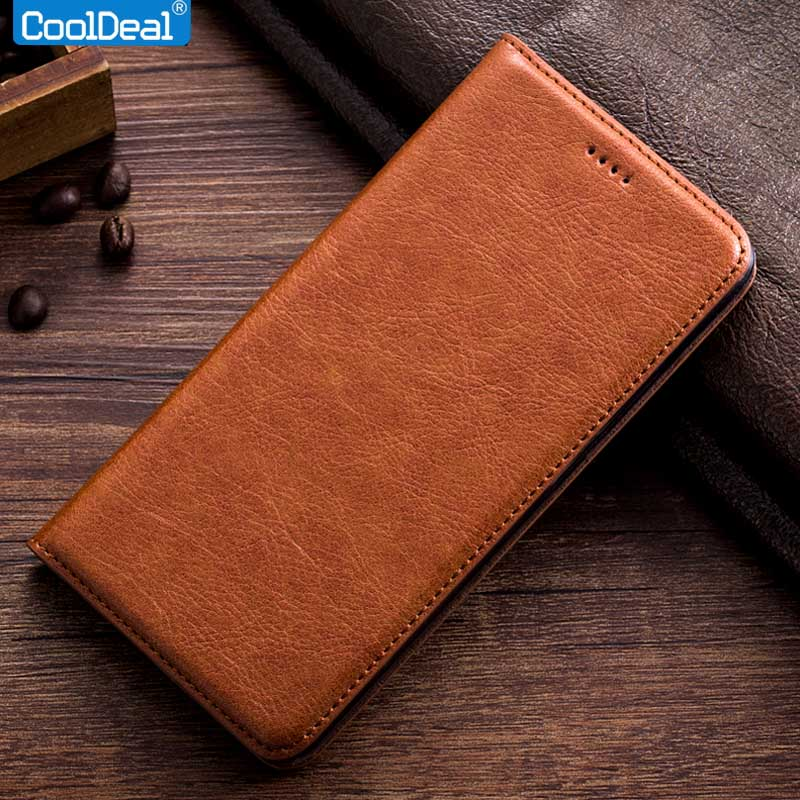 pretty nice db5f8 498df Vintage Leather Case For Oneplus X Flip Cover OnePlusX Cooldeal ...