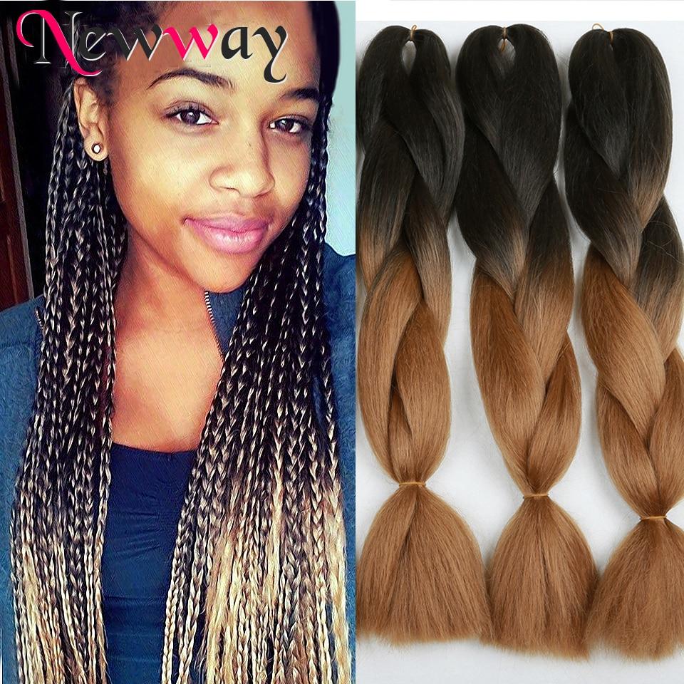 Aliexpress.com : Buy Marley Braid Hair BlackTwo Tone Ombre
