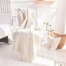 YOOSA Bedding Cotton Thread Throw Blanket High Quality Home Textile Plaid Air Room Autumn Winter Use Warm Soft Bedsheet Blanket yoosa белый