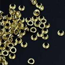 Metal Eyelets Scrapbooking Sewing-Accessories Shoes Decorative-Clothes Garment DIY 100pcs