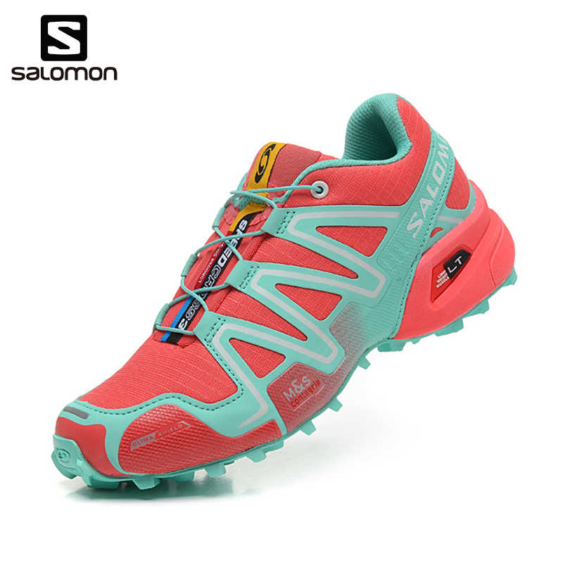 hot sale online 4b6d4 795dd Detail Feedback Questions about 2018 Newest Salomon Speed Cross 3 CS III  Women Shoes Outdoor Woman Sneakers Zapatos De Mujer Female Running Shoes  Free ...