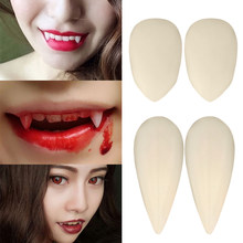 1 Paar Prothese Anime Manga Elf Cosplay Nep Tanden Halloween Party Kostuum Props Vampire Imitatie Make Scary Decoratie Vj-dr(China)