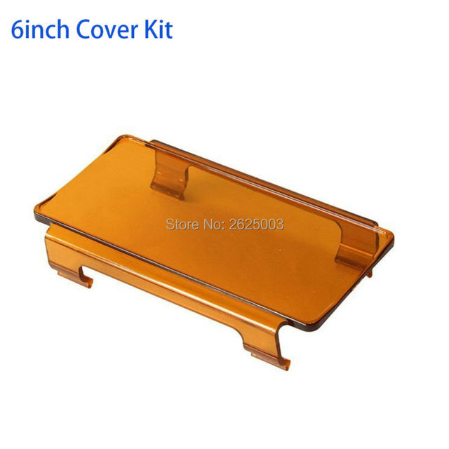 Amber light cover 6 inch amber protective rainy double row led amber light cover 6 inch amber protective rainy double row led light bar cover kits change aloadofball Choice Image
