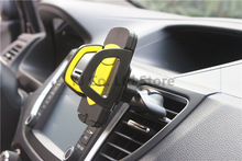 new car-styling Universal car air conditioner outlet phone holder 360 Degree Rotation adjustable CD slot mobile