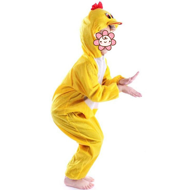 2018 Children Boy Girls Cartoon Animal Yellow Duck Costume Kids Cosplay Jumpsuits Costumes Party Dress Supplies  sc 1 st  AliExpress.com : duck costume  - Germanpascual.Com