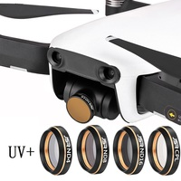 Screwed UV + CPL + ND4 + ND8 + ND16 Neutral Density Lens Filter Kit for DJI Mavic Air Gimbal Lens Drone Accessories