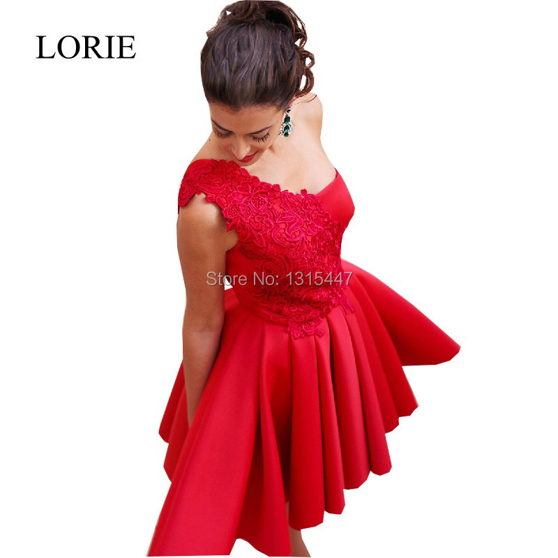 Gorgeous Red Homecoming font b Dresses b font 2016 Short Prom font b Dresses b font