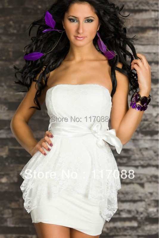 Online Get Cheap White Strapless Tube Dress -Aliexpress.com ...