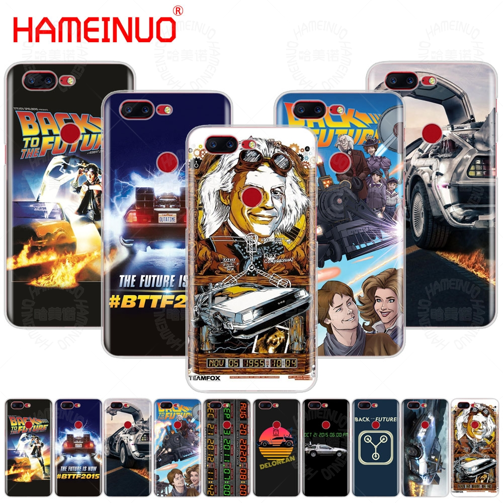 HAMEINUO Delorean Back To The Future time machine cover phone case for Oneplus one plus 5T 5 3 3t 2 X A3000 A5000