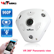 VR 360 Panoramic Wifi Camera IP 1.3 Megapixel 960P HD 3 LED Array 30m Night Vision Audio Onvif P2P IR CCTV Surveillance Camera