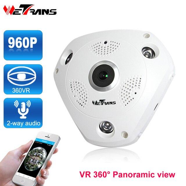 Vr 360 Panoramic Wifi Ip Camera Network 1 3mp 960p Hd 30m