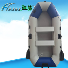 HAIDI Inflatable boats 3 layer pvc clip net fishing boat rowing 3 Person With wire drawing Bottom For Drifting Surfing Sandbeach high quality explorer two inflatable fishing boats thickened double rubber rowing boat paddles and pumps