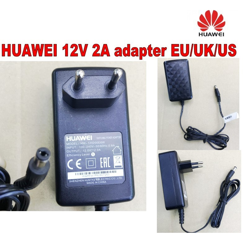 Power Adapter Voor Huawei 12 V 2a-eu/uk/us Voeding Lader Grote Rassen