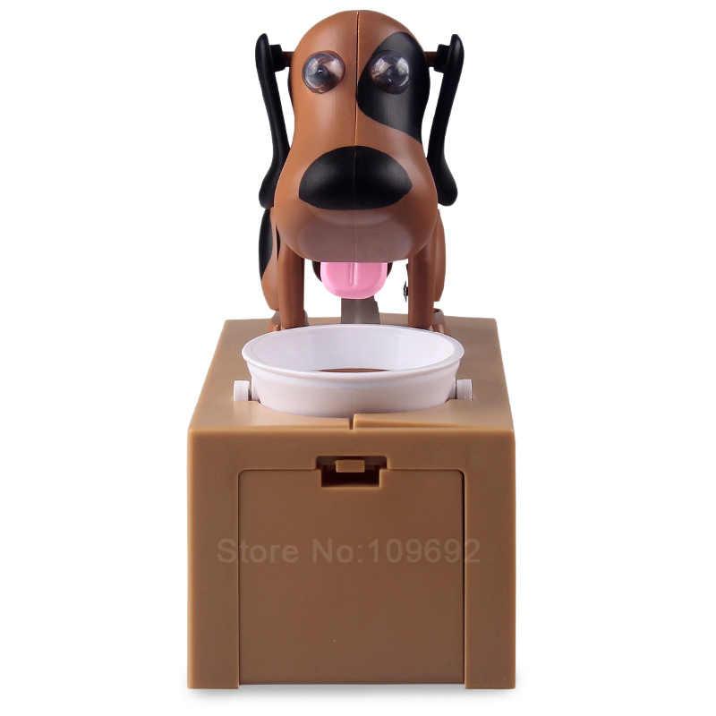 So Cute Piggy Bank Dog Super Fun Cartoon Money-boxes Automatic Stole Coin Saving Banks Money Saving Box Toys Gifts for kid