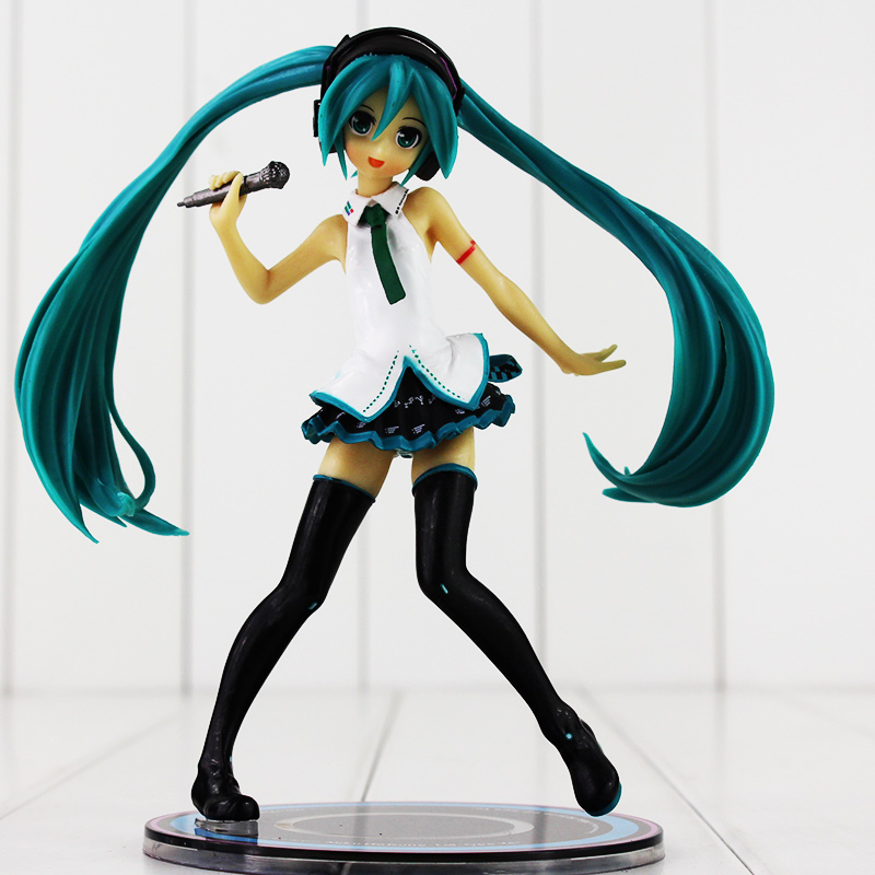 15cm Hatsune Miku Lat Ver. Super Cute Figure Dolls Collection Model Toy with base
