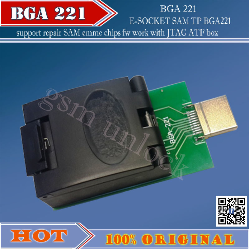 Communication Equipments 2017 The Newest Version 100% Original Gpg Emmc Bga Adaptor 221 For Gpg Emmc Box J-tag Box Free Shipping Reasonable Price Telecom Parts
