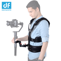 THANOS gimbal supporting system Spring Shock Absorber Arm and vest Steadicam/stabilizer for DJI Ronin S Crane 2 Moza Air 2