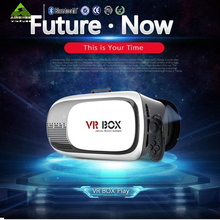 2016 Popular 3D VR Box 2.0 Virtual Reality Glasses Cardboard Movie Game for Samsung IOS iPhone Smart phones
