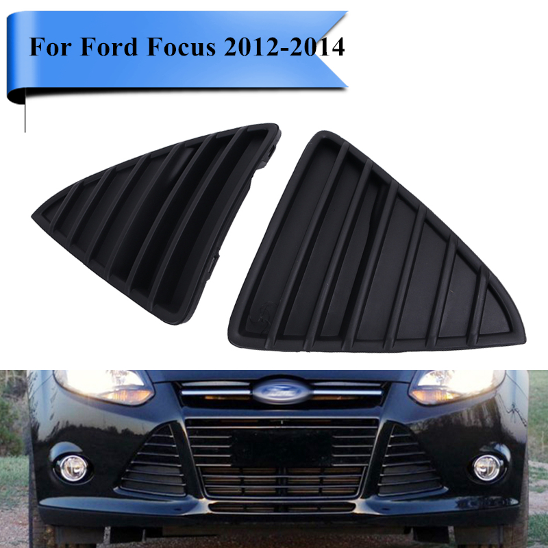 for ford focus 2012 2013 2014 car front bumper triangle grille cover grill lattice car styling. Black Bedroom Furniture Sets. Home Design Ideas
