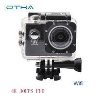 4K 24FPS Sports Camera Ultra Full HD 2K 30fps Video Camera 170 Degree Wide 2 0