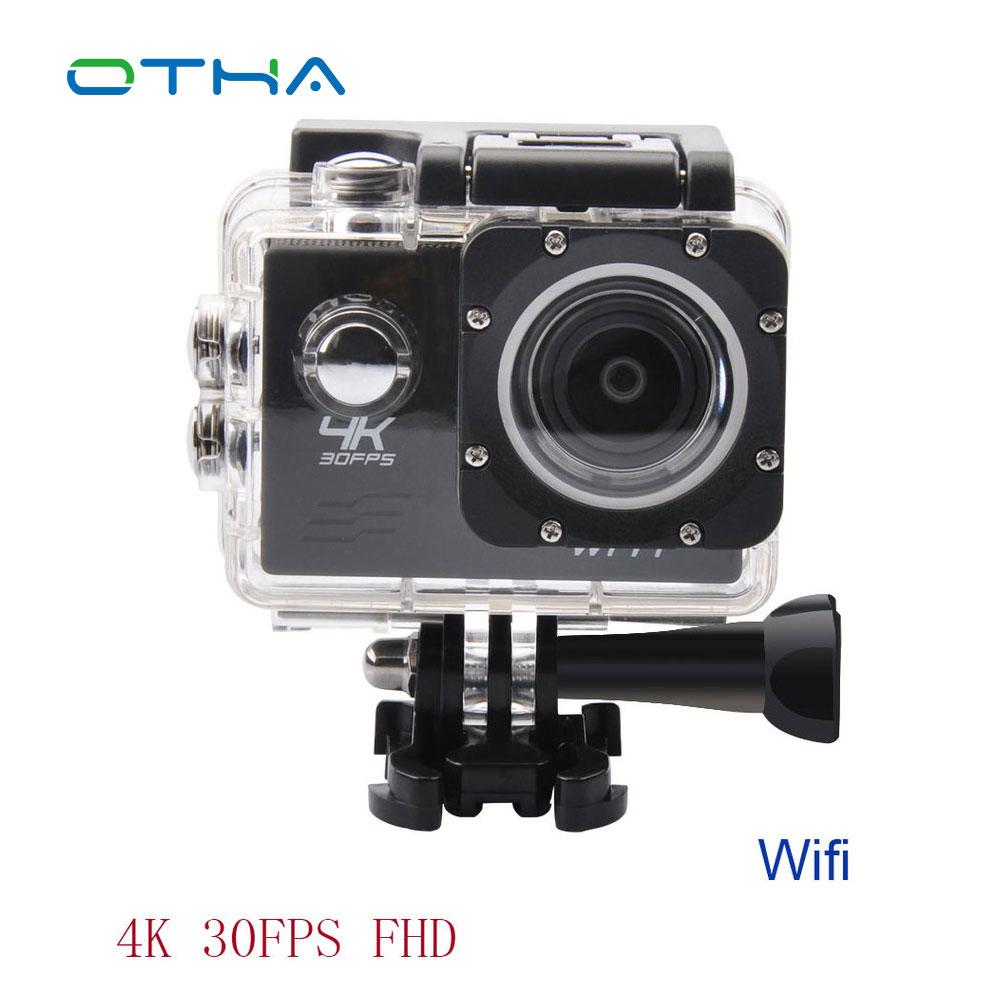 bilder für 4 Karat Sport & Action Kamera 1080 p Wifi Kamera Wasserdichte Mini Camcorder HD Cam Unterwasserkameras Videokamera Full HD Cam