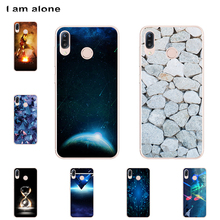 I am alone Phone Shell For Asus Zenfone Max M1 ZB555KL 5.5 inch Solf TPU Colorful Fashion Cases For Asus Zenfone Max M1 ZB555KL аксессуар чехол red line для asus zenfone m1 max zb555kl unit black ут000014608