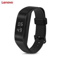 Hot Bán Lenovo HW01 Bluetooth 4.2 Heart Rate Monitor Thông Minh Wristband Ngủ Quản Lý Thể Dục Thể Thao Theo Dõi Vòng Đeo Tay cho Android iOS