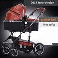 0-36 месяцев ребенок 2 в 1 Bora детская коляска складной четыре сезона вообще ребенок четыре колеса шок амортизаторы коляска