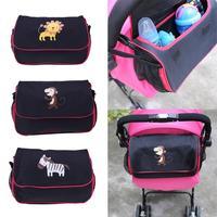 Rollstühle Tasche Kinderwagen Zubehör Baby Schieben Chair Wagen Flasche Windeln Lagerung 6 Pakete Cartoon Animal Print