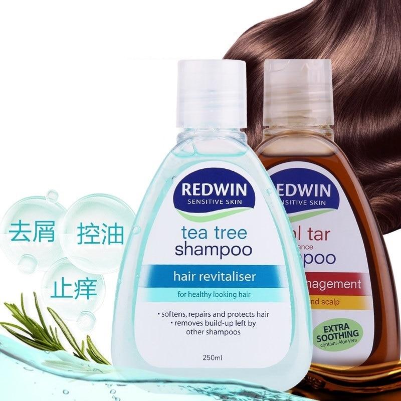 Original Australia Redwin Coal Tar/Tea Tree Oil Shampoo pH balanced formula for Soothe Dry/itchy Scalp Soften Repair Better Hair серум за растеж на мигли