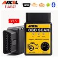 Мини ELM327 Bluetooth V1.5 OBDII OBD2 ELM 327 Автомобиль детектор Диагностический Инструмент OBD 2 Диагностический Прибор Инструмент Авто Диагностический Сканер