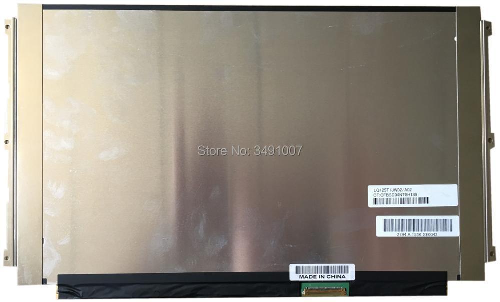 LQ125T1JW02 A02 LQ125T1JW02/A02 LCD LED Display SCREEN Panel IPS LED 2560x1440 ltn160at01 ltn160at01 a02 hd ccfl backlight laptop lcd screen led display panel ltn160at01 a02 matrix